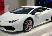 Papa Francisc a primit in dar un Lamborghini Huracan
