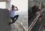 O provocare nebuneasca i-a adus sfarsitul! A cazut in gol de la 150 de metri inaltime - Avea numai 26 de ani
