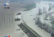 Inundatii devastatoare in nordul Italiei. Sute de oameni au fost nevoiti sa-si paraseasca locuintele inghitite de ape