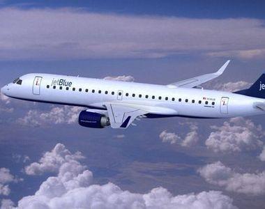 O aeronava a companiei JetBlue a derapat pe pista aeroportului Boston. Incidentul nu...