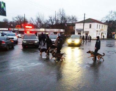 Un barbat a luat 11 ostatici intr-un oficiu postal in orasul ucrainean Harkov