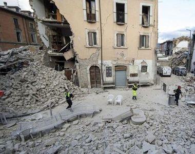 Cutremur mare in Italia: Scolile au fost inchise, iar traficul feroviar a fost suspendat