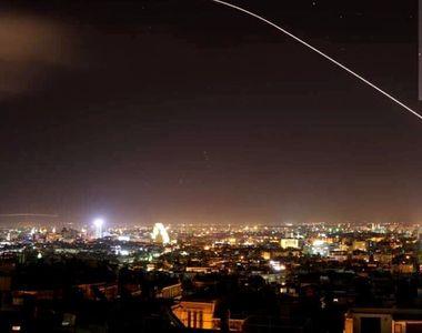 Atac in Siria, in aceasta dimineata! Primele imagini cu bombardamentul lansat de SUA,...