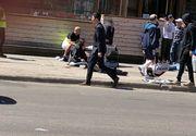 Clipe de cosmar in Toronto, Canada! O camioneta a intrat in multime: doi morti si opt raniti. Bilantul a ajuns la 10 morti si 15 raniti