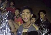 Interventie contracronometru in Thailanda! Sase din cei 12 copii captivi in pestera au fost adusi la suprafata