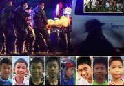 "Cei opt copii salvati din grota din Thailanda sunt ""sanatosi"", dar internati in carantina"