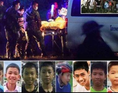 "Cei opt copii salvati din grota din Thailanda sunt ""sanatosi"", dar internati..."