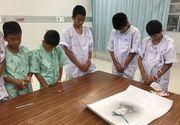 Copiii salvati din pestera din Thailanda au aflat adevarul despre unul dintre scafandrii care i-a salvat. Cum au reactionat micutii