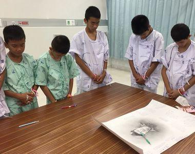 Copiii salvati din pestera din Thailanda au aflat adevarul despre unul dintre...