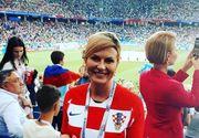 Presedinta Croatiei a facut senzatie la finala Campionatului Mondial de fotbal! Cum arata sotul ei si cu ce se ocupa