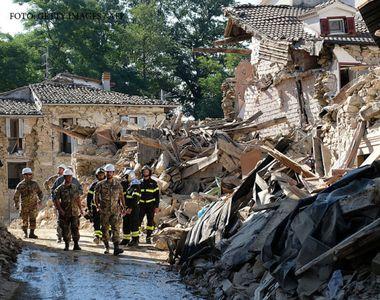 Cutremur puternic in Italia! De frica, oamenii si-au petrecut noaptea in masini. Ce...