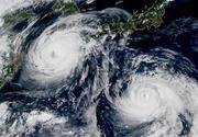 Un taifun puternic, Cimaron, se indreapta catre vestul Japoniei