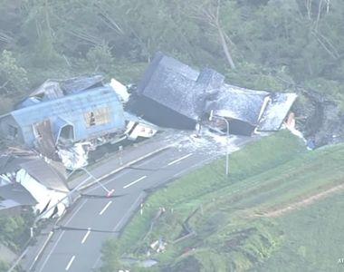 """Imaginile dezastrului! Cutremurul din Japonia a ucis 16 oameni. """"Inca sunt..."""