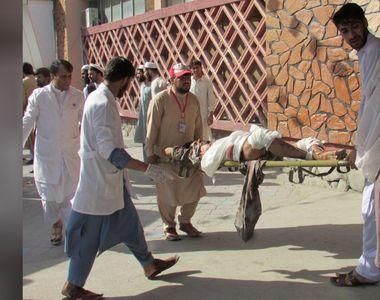 Cel putin 32 de oameni au fost ucisi si peste 120 au fost raniti intr-un atac sinucigas...