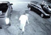 Video. Un sofer a zburat cu masina 30 de metri pe deasupra soselei si s-a infipt intr-o dubita