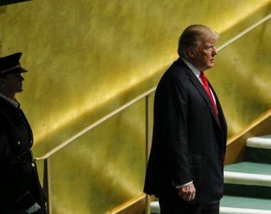 O politista romanca l-a pazit non stop pe Donald Trump la Adunarea Generala ONU de la...