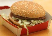 Schimbare majora la McDonald's! Vor sa utilizeze carne proaspata in locul celei congelate pentru burgeri!