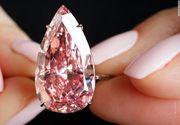 Un diamant roz a fost vandut cu 31,6 milioane de dolari! S-a stabilit un nou record mondial in acest sens!