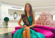 La doar 11 ani, o fetita din Romania a castigat premiul Little Miss World Universe 2016! De mica isi dorea sa ajunga pe podium