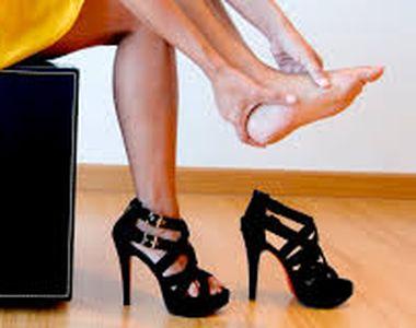 Pantofii cu toc, o placere sau un chin? Specialistii ne invata ce incaltaminte trebuie...