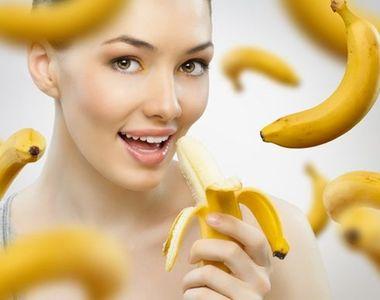 Dieta cu banane: slabesti fara sa-ti fie foame