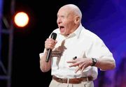 Un fost pilot al Fortelor Navale SUA a socat publicul si juriul de la concursul America's Got Talent. Batranul de 82 de ani a interpretat o piesa heavy metal