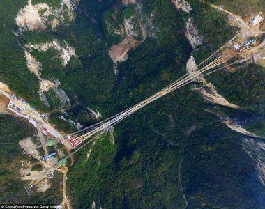 Cel mai lung pod din lume va fi inaugurat la sfarsitul acestui an. Constructia este...