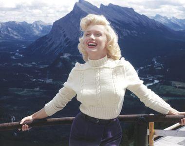 O serie de fotografii pierdute cu Marylin Monroe au fost dezvaluite pentru prima data...