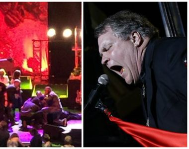"Cantaretul Meat Loaf a lesinat pe scena in timp ce canta ""I'd Do Anything For..."