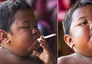 Cum s-a transformat copilul care la 2 ani fuma 40 de tigari pe zi?