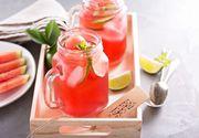 Limonada, perfecta pentru zilele toride. Iata cinci retete pe care trebuie sa le incerci