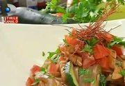 Reteta asiatica: tagliatelle din orez cu pui si legume