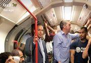 E unul dintre cei mai bogati oameni din lume, dar nu s-a sfiit sa mearga cu metroul. Seicul din Dubai, surprins in metroul londonez