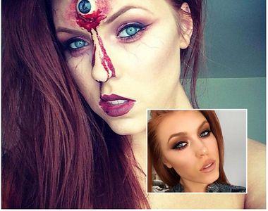 O tanara make-up artist a renuntat la machiajele conventionale si si-a transformat...