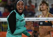 Diferenta dintre doua lumi la turneul olimpic de volei pe plaja de la Jocurile Olimpice de la Rio