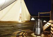 S-a deschis primul camping de lux din Romania. Unde este si cat costa o noapte de cazare intr-un cort incantator