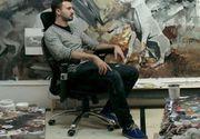 """Adrian Ghenie, cel mai valoros pictor contemporan, sustine ca succesul sau vine dintr-o serie de """"tepe"""": """"Nu imi mai numarati milioanele. Am luat teapa. Mi-am vandut tablourile pe nimic"""""""