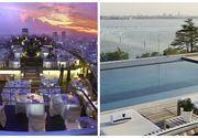 Acoperisurile uluitoare ale hotelurilor din lume care gazduiesc roof baruri sau piscine impresionante