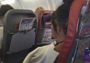 """Fa-ti copilul ala sa taca odata!"". Raspunsul fabulos dat de o mamica agresata verbal in avion de o doamna care nu putea sa doarma din cauza galagiei"