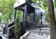 """Adevarul despre legendele celui mai """"tehnologizat"""" cavou de la Bellu! Are Tiberiu Urdareanu loc de veci cu aer conditionat, lift si cartela de acces? Imagini in premiera!"""