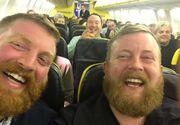 Moment bizar intr-un avion! Un barbat s-a asezat, din intamplare, langa sosia lui. Ce s-a intamplat apoi e si mai ciudat