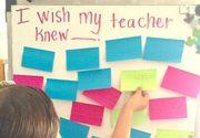 """Mi-as dori ca invatatoarea mea sa fi stiut ca nu am creioane acasa ca sa imi pot face tema!"" Intamplare emotionanta la o scoala primara"