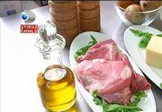 Secretul snitelului ca la restaurant. Un bucatar dezvaluie cum trebuie preparata carnea ca sa fie gustoasa si frageda