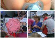 Bebelus de 9 luni, mort dupa ce a inghitit o bucata de plastic. Familia a permis unei echipe de televiziune sa filmeze ultimele zile de viata ale micutului