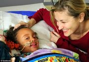 Momentul emotionant in care o mama afla ca fiica ei de 4 anisori va fi salvata de profesoara ei! E incredibil ce a facut invatatoarea pentru fetita diagnosticata cu o boala rara