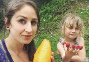 O mama isi hraneste fiica in varsta de 5 ani numai cu fructe si legume crude