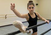 Povestea balerinei care si-a pierdut un picior din cauza cancerului, dar care continua sa danseze. Medicii i-au schimbat viata dupa ce i-au replantat piciorul