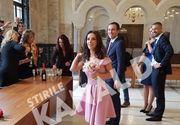 Fosta mare gimnasta Andreea Raducan s-a casatorit astazi! La cununia civila au fost prezenti si antrenorii Octavian Bellu si Mariana Bitang