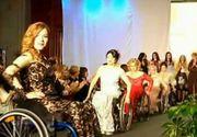 Prezentare de moda inedita! 20 de modele in scaun cu rotile au aratat ca nimic nu e imposibil daca ai vointa
