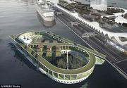 Cimitirul plutitor, cel mai inedit proiect. Cum arata si unde va fi amplasat